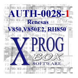 AUTH-0028-1 Renesas V850,V850E2,RH850