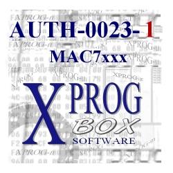 AUTH-0023-1 MAC7xxx