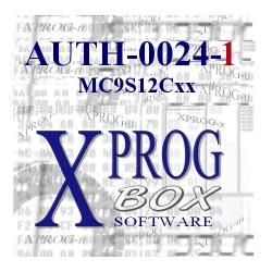 AUTH-0024-1 MC9S12Cxx