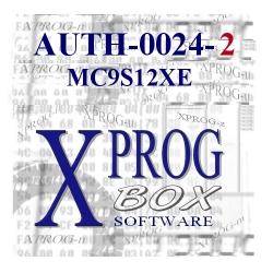 AUTH-0024-2 MC9S12XE