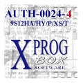 AUTH-0024-4 MC9S12HA/HY/P/VR/XS