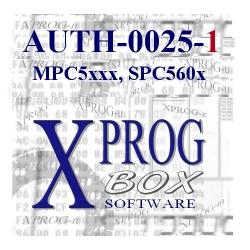 AUTH-0025-1 MPC/SPC5xxx
