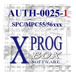 AUTH-0025-1 SPC/MPC55/56xxx