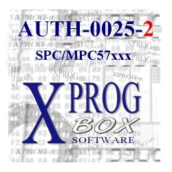 AUTH-0025-2 SPC/MPC57xx