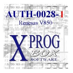 AUTH-0028-1 Renesas V850 (uPD70F)
