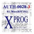 AUTH-0028-3 Renesas RL78