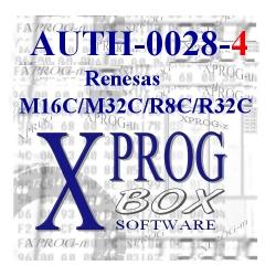 AUTH-0028-4 Renesas M32C